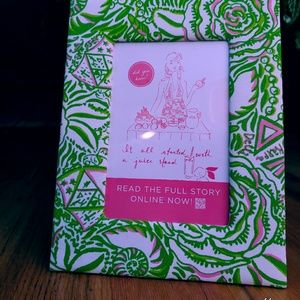 Lily Pulitzer Picture Frame Kappa Delta